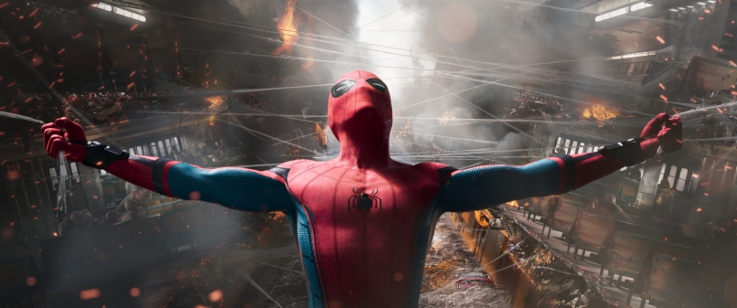 Tom Holland stars as Spider-Man in Columbia Pictures' SPIDER-MAN™: HOMECOMING.